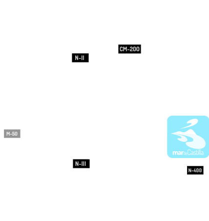 Cómo llegar a Mar de Castilla